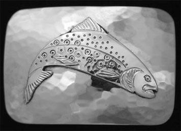 Trout Belt Buckle _2