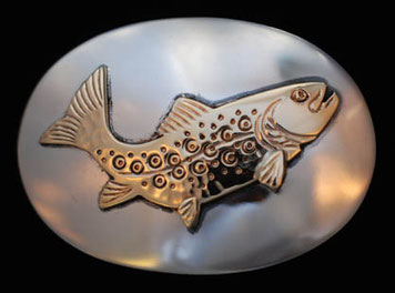 Trout Belt Buckle