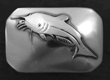 Catfish Belt Buckle