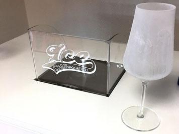 Gläser vereisen Bar