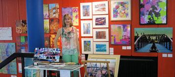 Beim Malerweekend Juni 2014