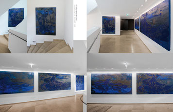Blaue Bilder Hotel Elisabeth, Ischgl