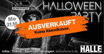 Halloween, Halloweenparty, Party, Event, die Halle Tor 2, Halle Tor 2, Dj, Music, Location, Eventlocation, Club, Cologne, Köln
