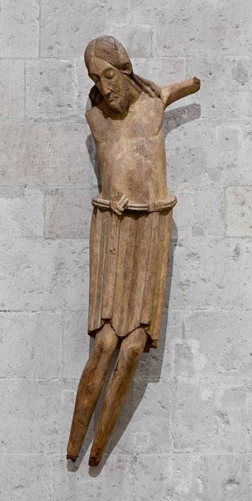 Kruzifix aus St. Georg, Köln um 1060, Köln, Museum Schnütgen, Inv. A 9, Foto Rheinisches Bildarchiv, Köln