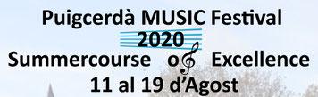 Puigcerdà Music Festival - Rètol