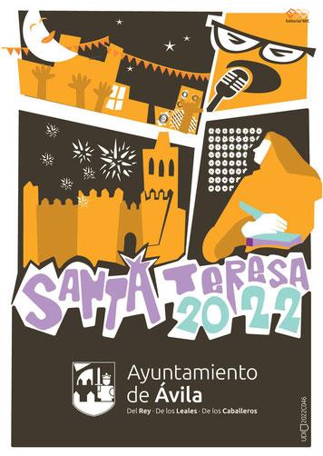 Programa de las Fiestas de Santa Teresa en Ávila