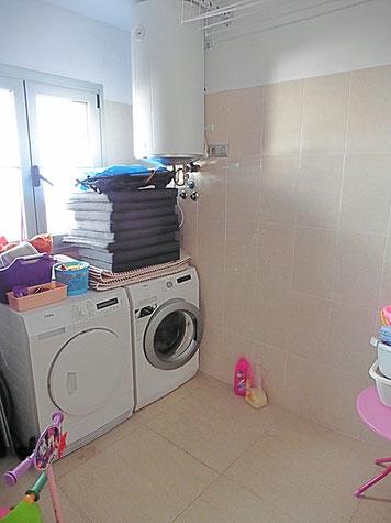 Vorrats- und Waschraum