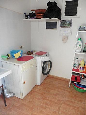 Wasch- und Abstellraum