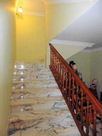 Zugang zum Untergeschoss