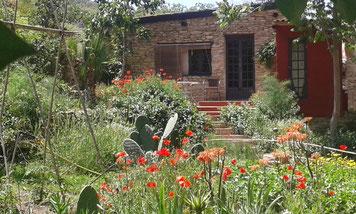 Ferienhaus aus Naturstein