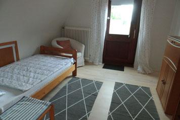 Einzelbett, Einzelzimmer in Cuxhaven Altenbruch, Cuxland
