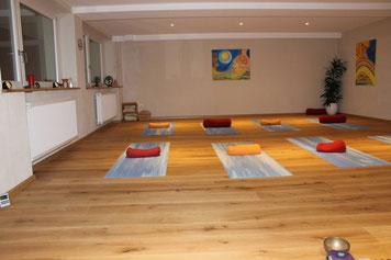 Therapieraum, Yoga, Entspannung ohne Funk, E-smogrei, strahlenfrei im Urlaub