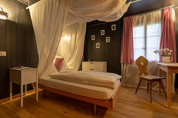 geschirmtes Zimmer, Hotel, Urlaub, Ferien ohne Elektrosmog, erholsam und gesund