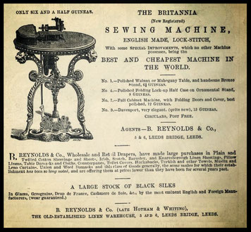 1868 - B. REYNOLDS & Co. LEEDS