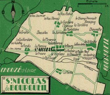 Commune de Saint Nicolas de Bourgueil