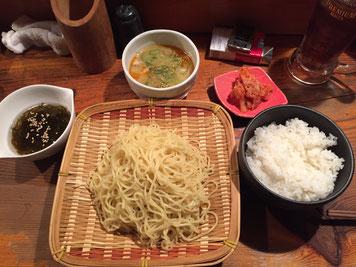 つけ麺定食
