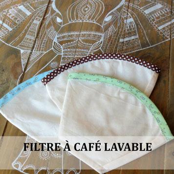 filtre à café écologique lavable et réutilisable