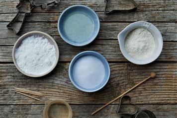 Zutaten für Salzteig