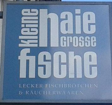 Kleine Haie Grosse Fische - Kultige Fischbude Querstraße 4 Hamburg St. Pauli