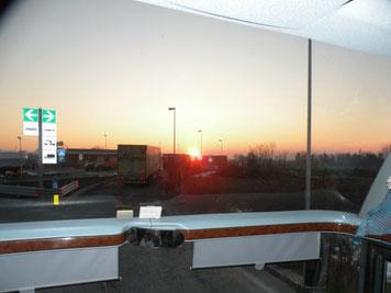 Il ritorno al tramonto