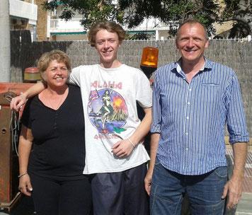 Christian, Hildi & Lino Burkhart
