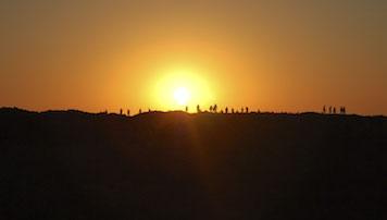 Sonnenuntergang Horizont Business Coaching