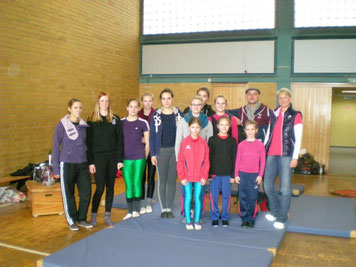 S- und Juniorteam Saarburg mit Michael Gnad und Silke Theisen