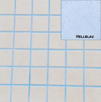 Fugenmasse Hellblau für Fugenbreiten von 3mm-12mm für den Innen-und Außenbereich und den Wand und Bodenbereich