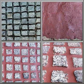Pflasterfugenmasse Kaminrot zum verfugen von  Wege und Terrassen, frostsicherer wassserundurchlässige Fugenmasse für breite Fugen wasserundurchlässig für Terrassen