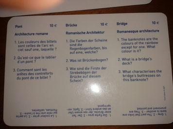 Questions Architecture romane/ Billet de 10 €