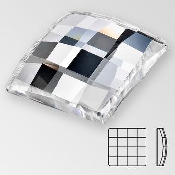 Preciosa Chessboard Square Crystal