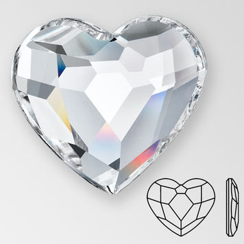 Preciosa Heart Crystal