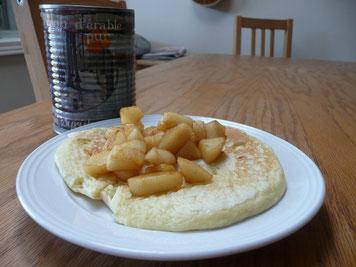 Le petit-déjeuner typique du dimanche matin !