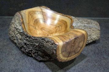 Michel Fournier Tournage sur bois - Coupe abricotier