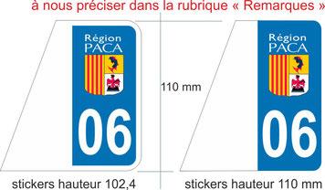 stickers toutes tailles pour automobiles