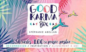 Good karma box, Pierres de Lumière, tarots, lithothérpie, bien-être, ésotérisme