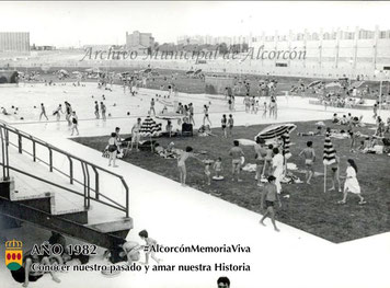 Piscina santo domingo 1982