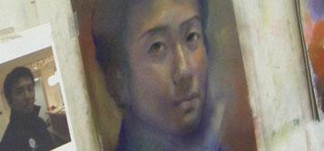 肖像画 パステル画 パステル画教室
