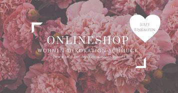 Lieblingsidee Onlineshop Wohnen Dekoration Schmuck