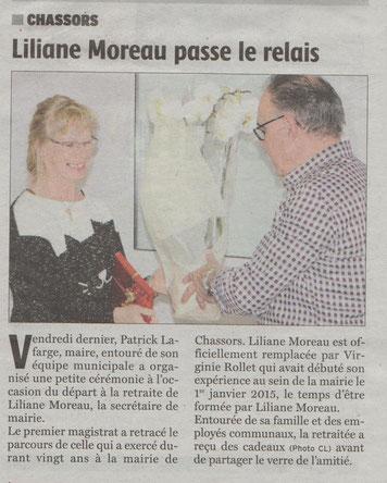 Artile Charente Libre du 10 janvier 2017