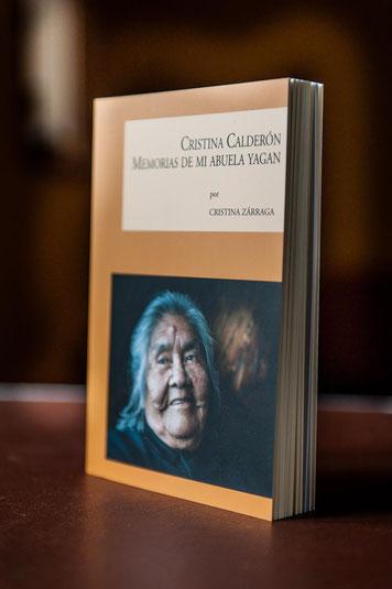Cristina Zárrga, CRISTINA CALDERÓN MEMORIAS DE MI ABUELA YAGAN Cristina Zárraga