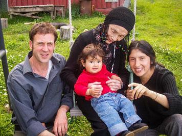 Oliver Vogel, Anne Chapman, Hani Kipa Vogel, Cristina Zárraga