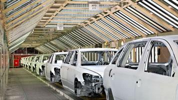 Fördertechnik für die Automobilindustrie