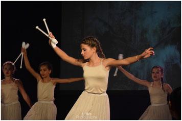 Danse à Châteauneuf du Pape. Ass Arts & Culture. Modern Jazz Ados