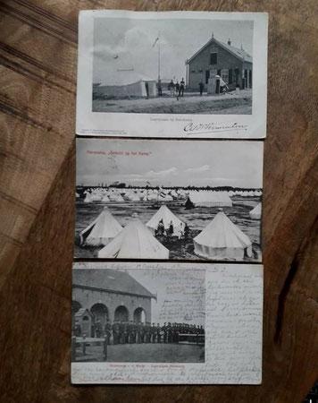 ISK, Infanterie schiet kamp, Harskamp, 1906, tentenkamp Harskamp