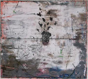 Ronald Zuurmond, ONDERWERP, 2018, Öl auf Leinwand, 160 x 180 cm