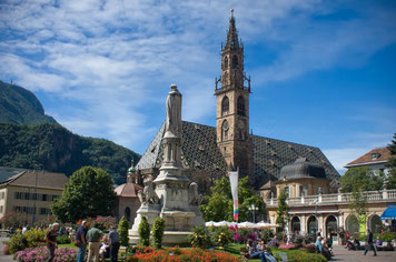 Bolzano top things to do - City Center - Copyright Xavier