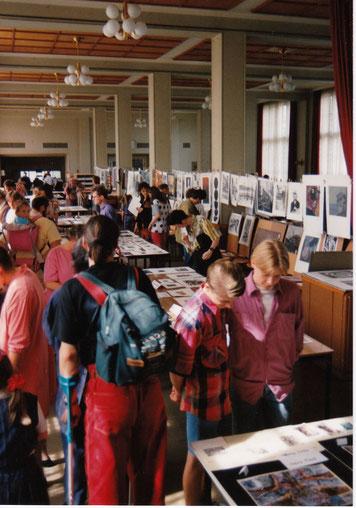 Graphikmarkt in der Mensa der Medizinischen Akademie Carl Gustav Carus