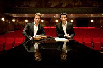 Tobias Feldmann (Geige) ; Boris Kusnezow (Klavier)