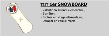 Snowboard val d'ese